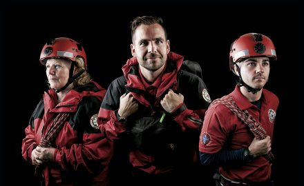 Portrait of Cheshire Search and Rescue Team