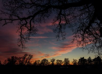 Commercial Photography Sunset in Cheshire by Paul Worpole Photography