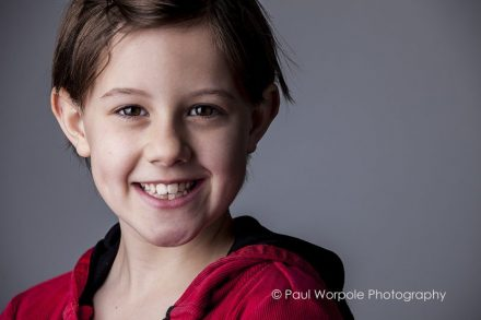 Actor Headshots BFG star Child Actor Ruby Barnhill plays Sophie a New film by Steven Spielberg DreamWorks Studio Portrait by Paul Worpole Photography