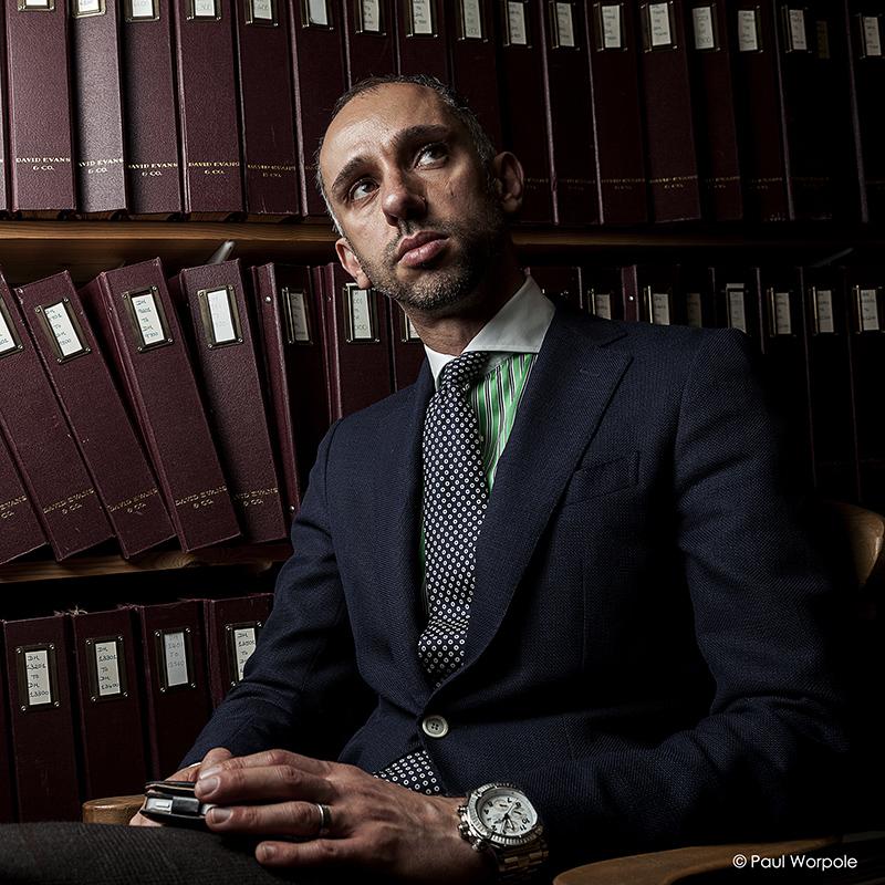 Portrait of MD Adamley © Paul Worpole