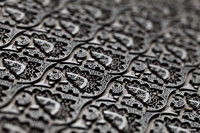 Silk Pattern Block Adamley Silk © Paul Worpole