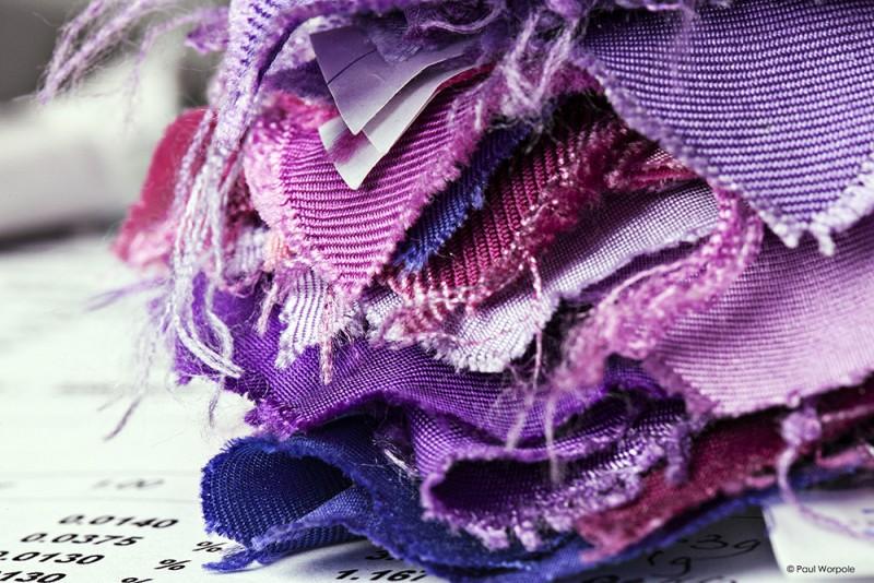 Silk Samples © Paul Worpole