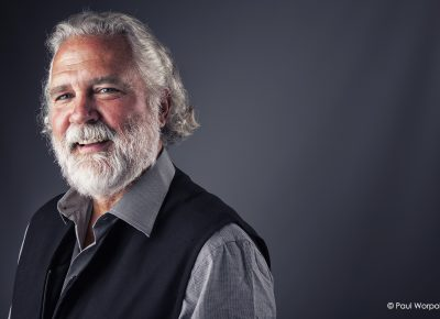 Commercial Headshot of a Man with a Beard that looks like Santa © Paul Worpole Photography