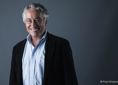 Corporate Commercial Headshot of Professor Pierre Cox smiling in Manchester © Paul Worpole Photography
