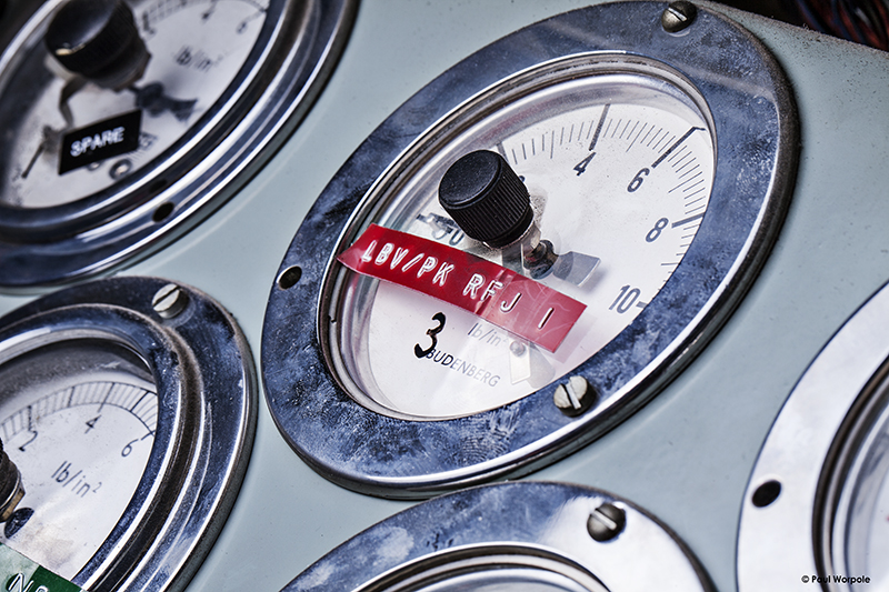 Technicians Make It Happen BT Openreach Image of Analogue Dials with Red DymoTape Label © Paul Worpole Photography