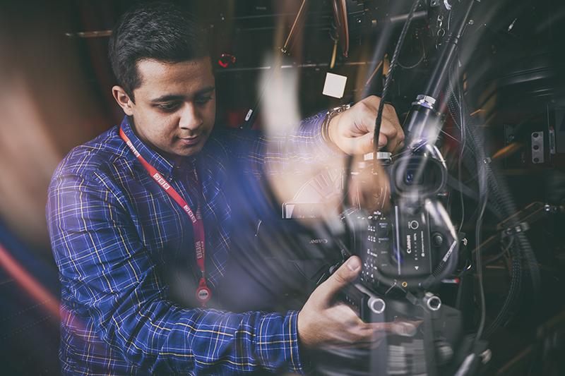 Brochure Photography BBC Technician © Paul Worpole Photography
