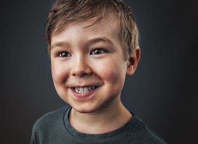 Portrait of boy © Paul Worpole Photography