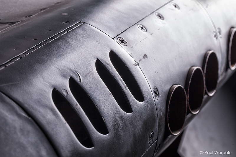 Commercial Photograph Jaguar Jet Fighter Plane Exhaust Ports © Paul Worpole Photography