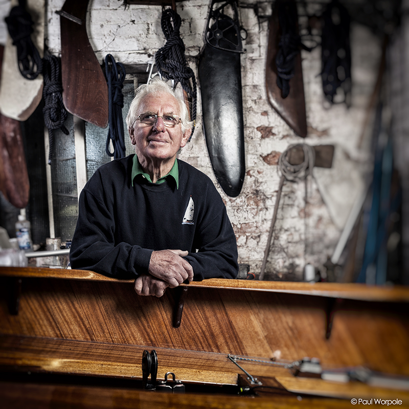 Brain the Boat Builder at 82 © Paul Worpole Photography