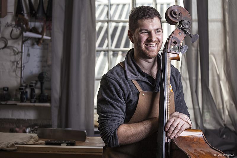 Portrait-of-Sam-Wells-Bass-Maker-©-Paul-Worpole-Photography