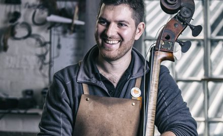Sam Wells Bass Maker © Paul Worpole Photography