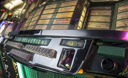 Wurlitzer Jukebox from 1956 200 selection detail © Paul Worpole Photography