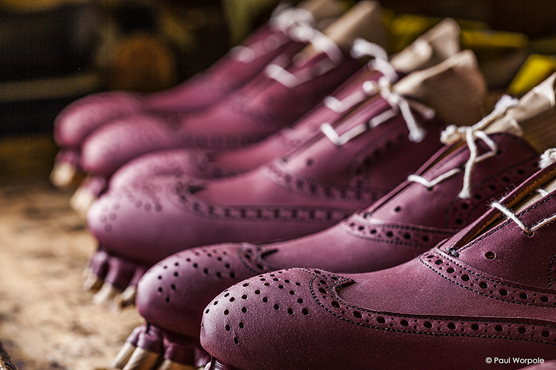 Close Up Product Photography Crockett & Jones Brogue Toe Detail © Paul Worpole Photography