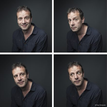 Editorial Photography Four Portraits of Man © Paul Worpole Photography